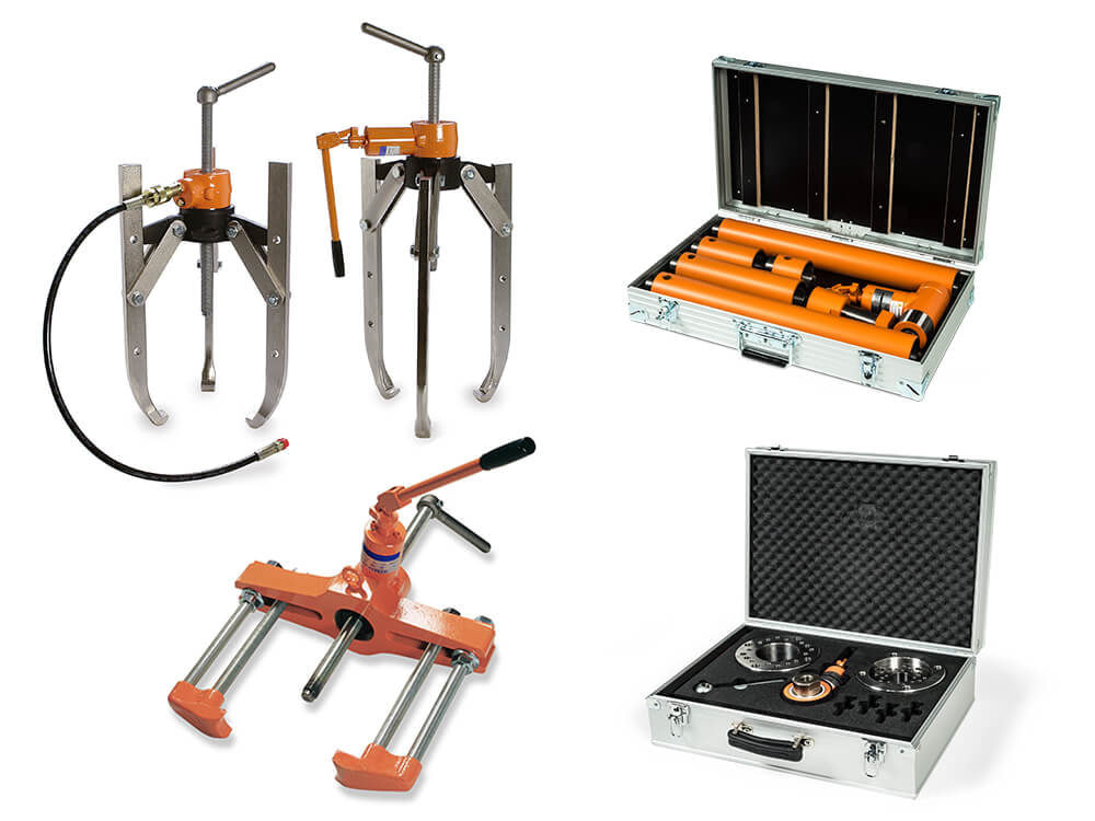 Hydraulic tools, kits & accessories