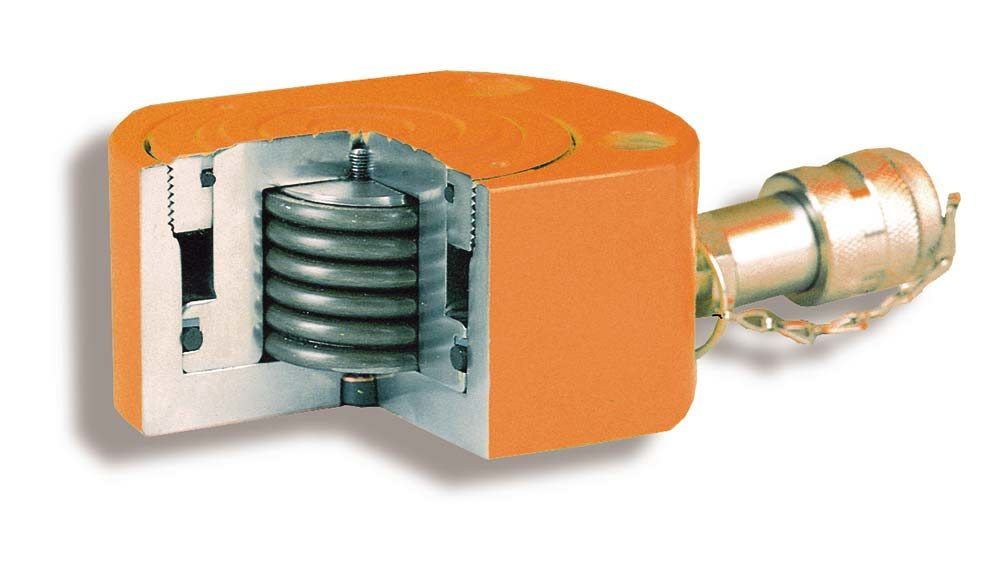 Low Height Cylinders, Load or Spring Return - hollow