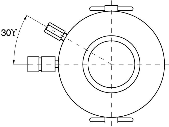 Double Acting High Tonnage Cylinders - drawing
