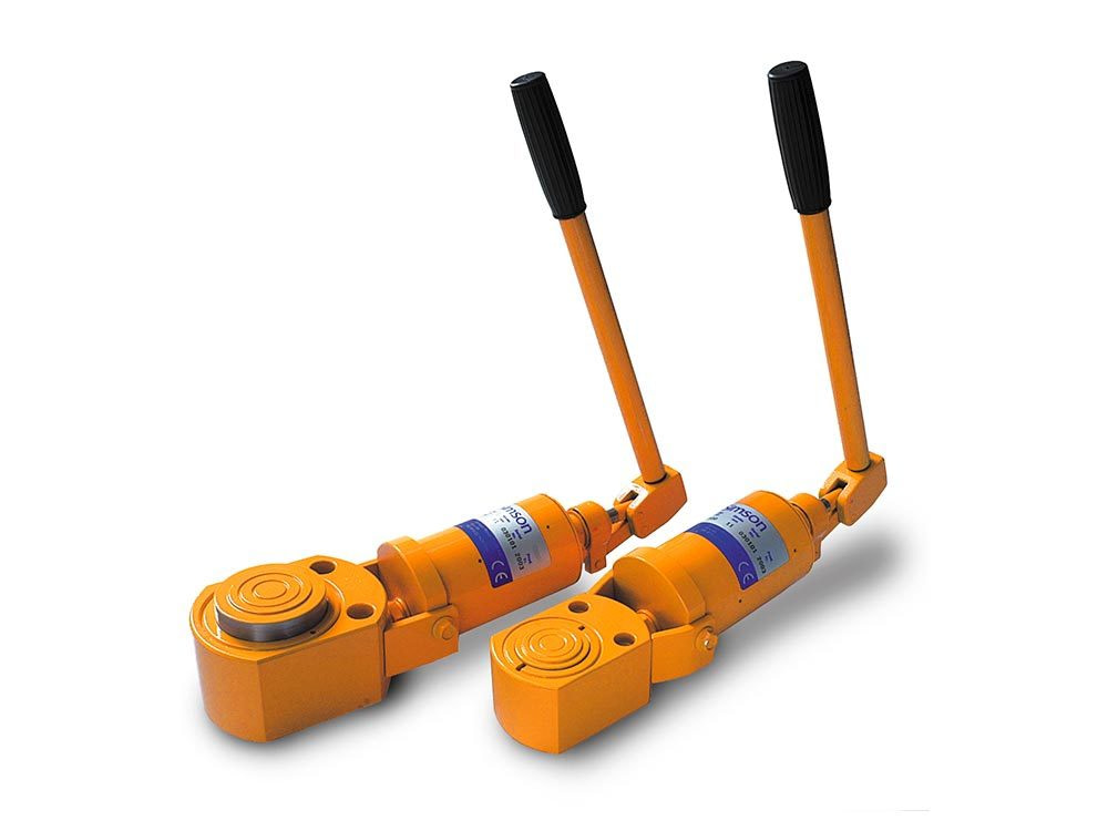 Low height jacks – Low height telescopic